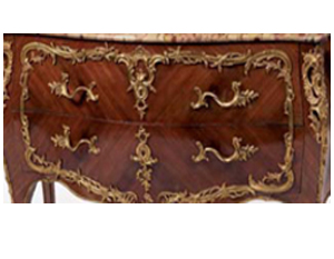 Commode Marqueterie Style Louis XV